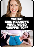 Watch Erin Keaney's viral video 'Muffin Top'